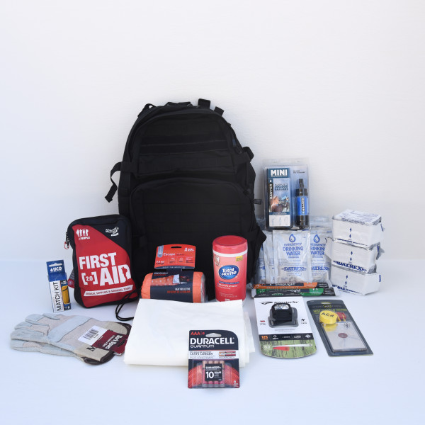 Basic Go Bag – 1 Person – Perfect Prepper