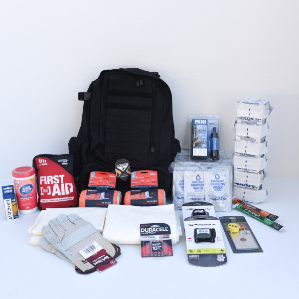 Basic Go Bag – 2 Persons – Perfect Prepper