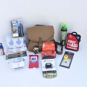Motorcycle Emergency Kit - 1 to 2 Persons - Perfect Prepper