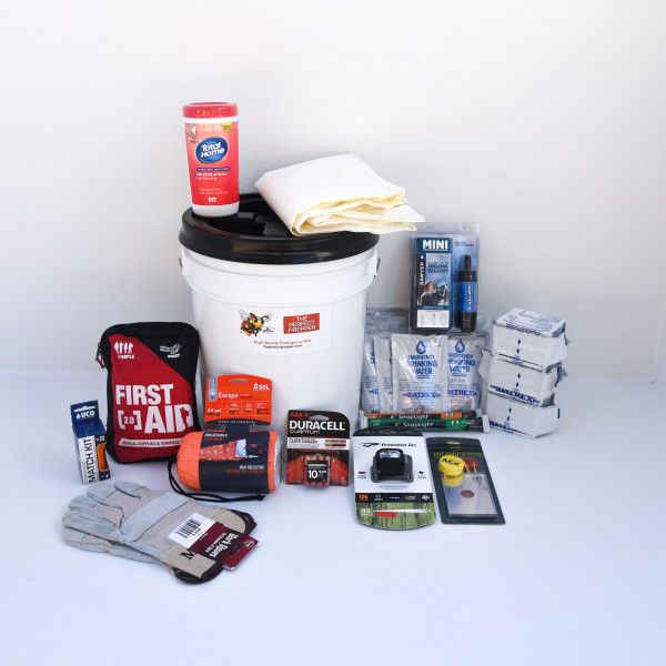 Basic Home Emergency Kit – 1 Person – Perfect Prepper