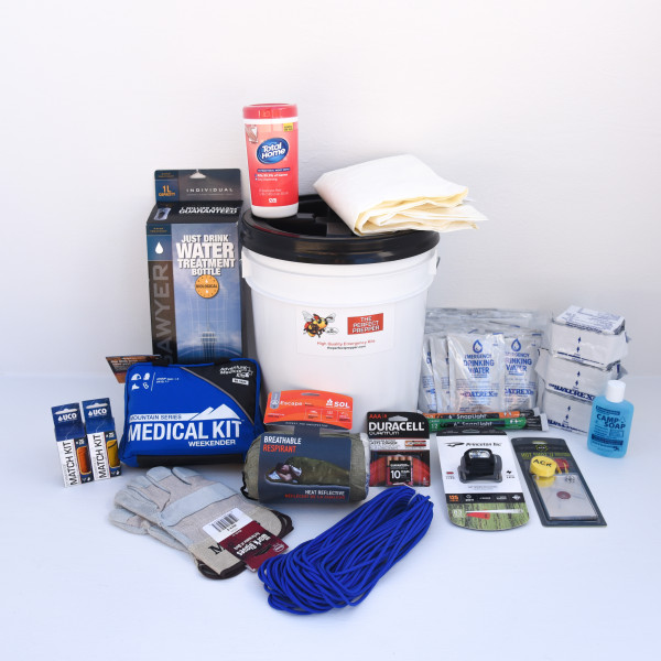 Deluxe Home Emergency Kit 1 Person The Perfect Prepper