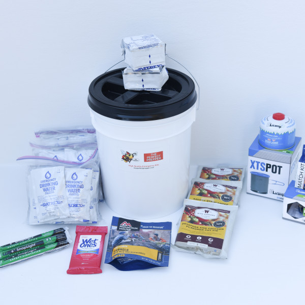 Deluxe Food & Water Kit – Perfect Prepper