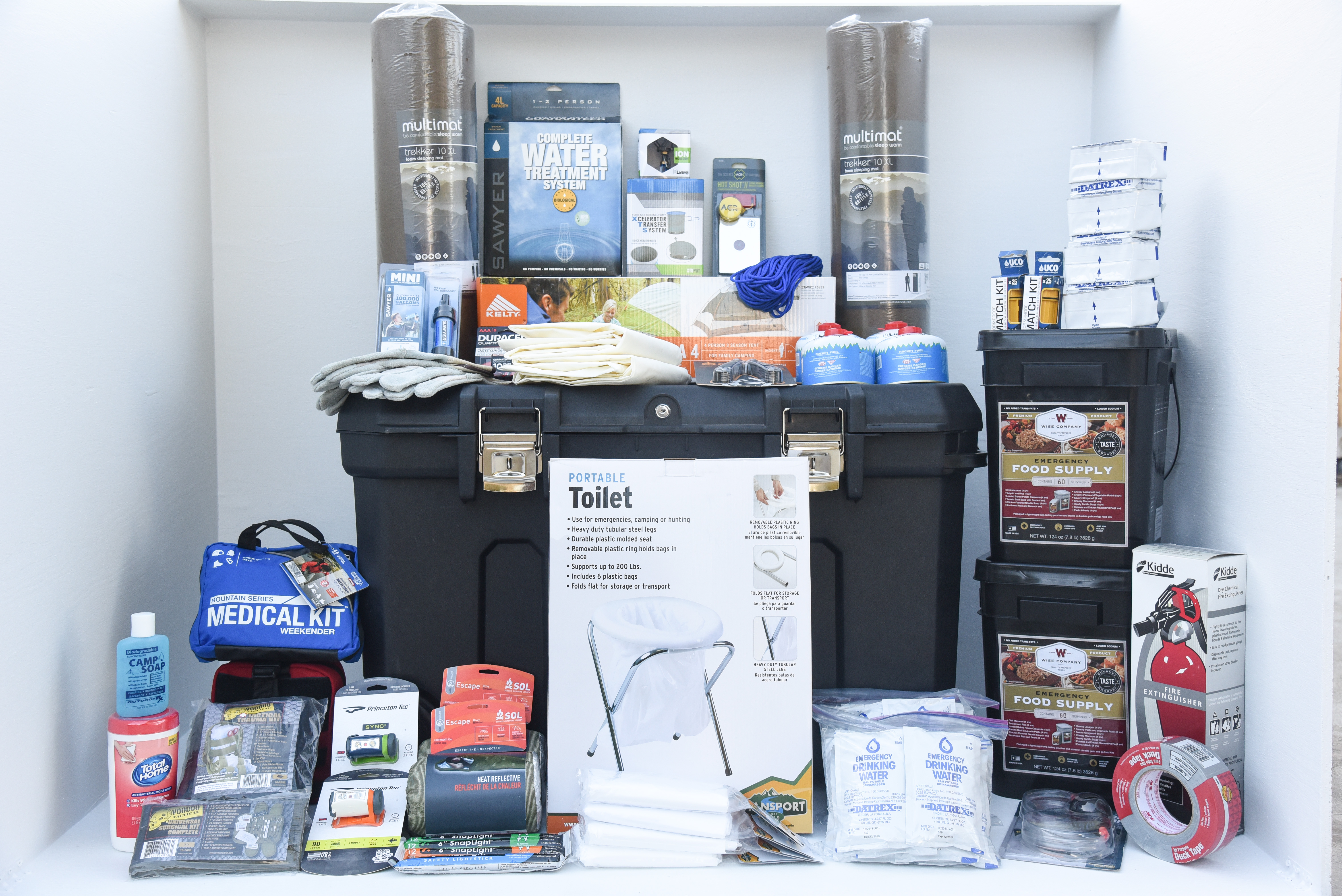 Deluxe Family Home Emergency Kit 2 Persons The Perfect